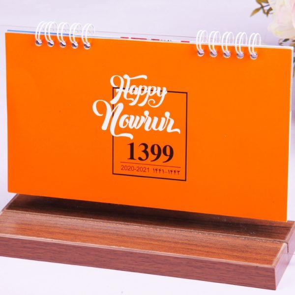 تقویم رومیزی چوبی و شیهشه | تقویم رومیزی ارزان 1400 مدل مینیاتور
