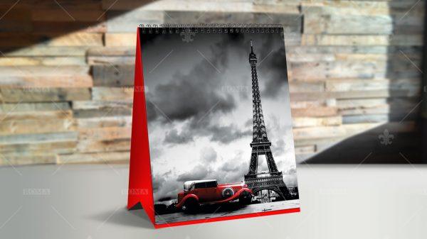 خرید تقویم رومیزی/ تقویم رومیزی پاریس