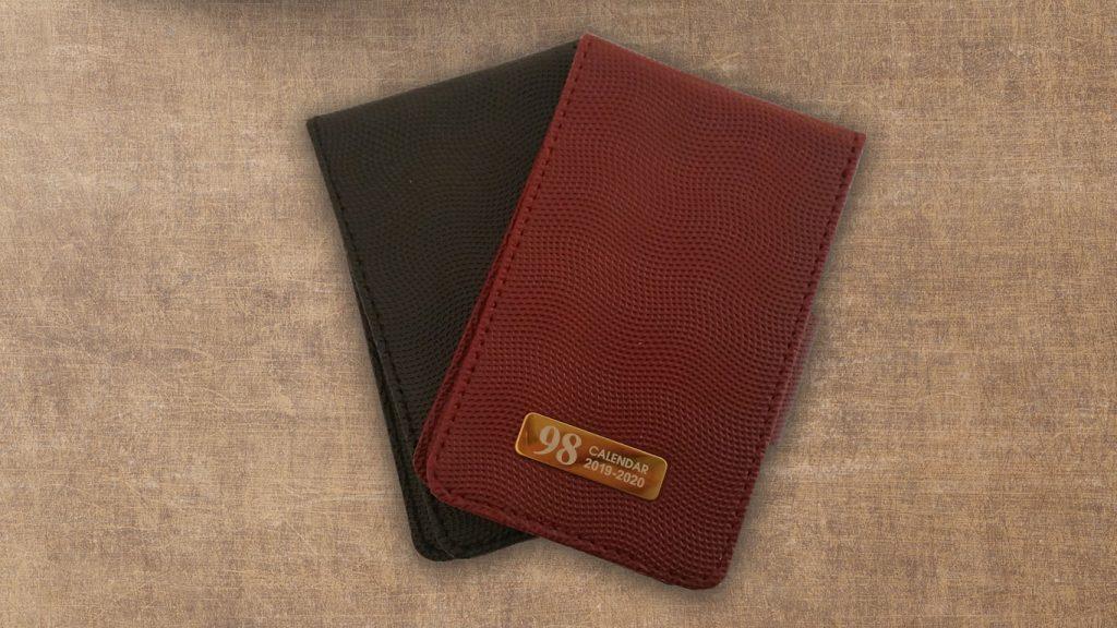 دفترچه چرمی/چاپ سررسید جیبی 1400