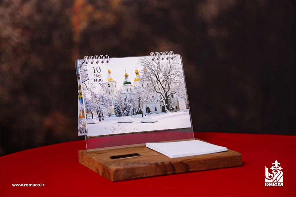 سررسید تقویم ۱۴۰۰   تقویم سالنامه و سررسید رومیزی مدل ۱۴۰۰